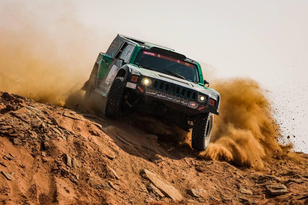 Las espectaculares fotos de la Etapa 8: la llegada a Neom - Dakar 2021