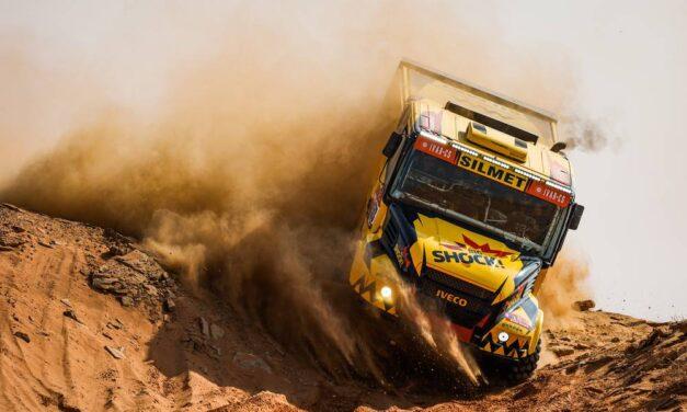 Martin Macik logra una gran victoria en la Etapa 9 – Reporte Camiones – Dakar 2021