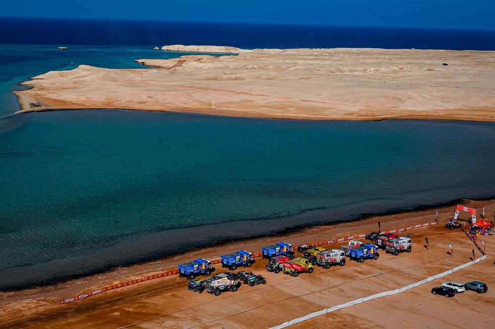 Las mejores fotos de la etapa 9: una vuelta por las costas del Mar Rojo - Dakar 2021