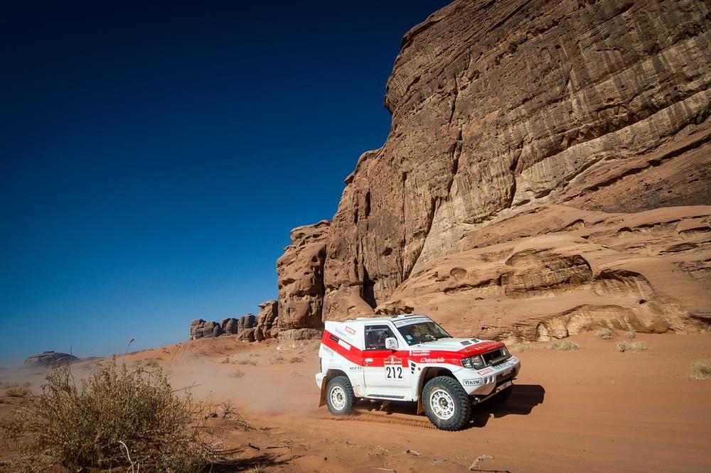 Fotos: los Dakar Classic se lucieron en las etapas 9 y 10