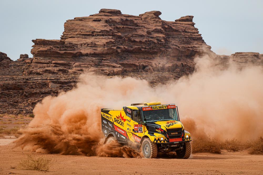 Martin Macik repite victoria en la décima etapa del Dakar 2021