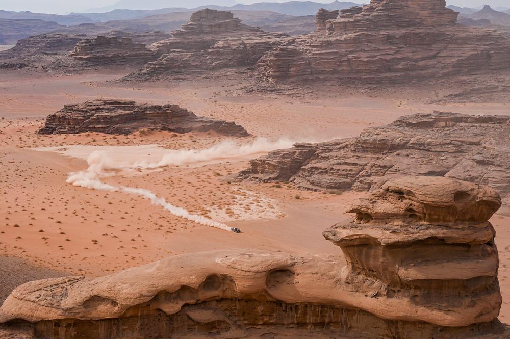 Recorrido modificado para la Etapa 11 del Dakar 2021