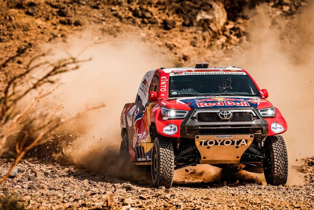 Baragwanath y Al-Attiyah ganaron el prólogo del Dakar 2021 entre los autos