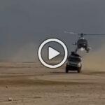 Video completo: El extraño accidente entre un camión Kamaz y un helicóptero de prensa en el Dakar 2021