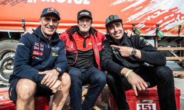 Falleció Hubert Auriol, una de las grandes leyendas del Rally Dakar
