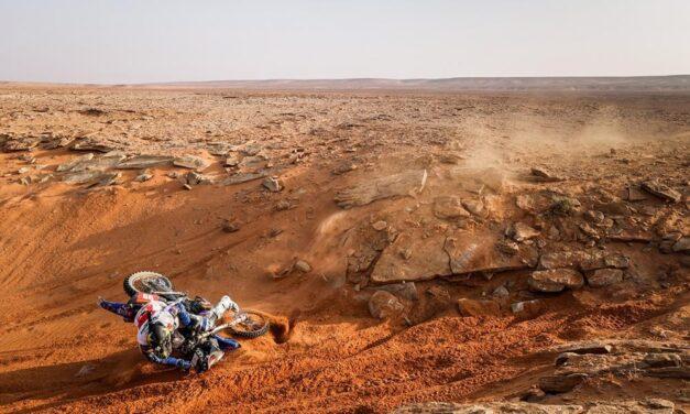 La tremenda historia de Javi Vega en la última etapa del Dakar 2021