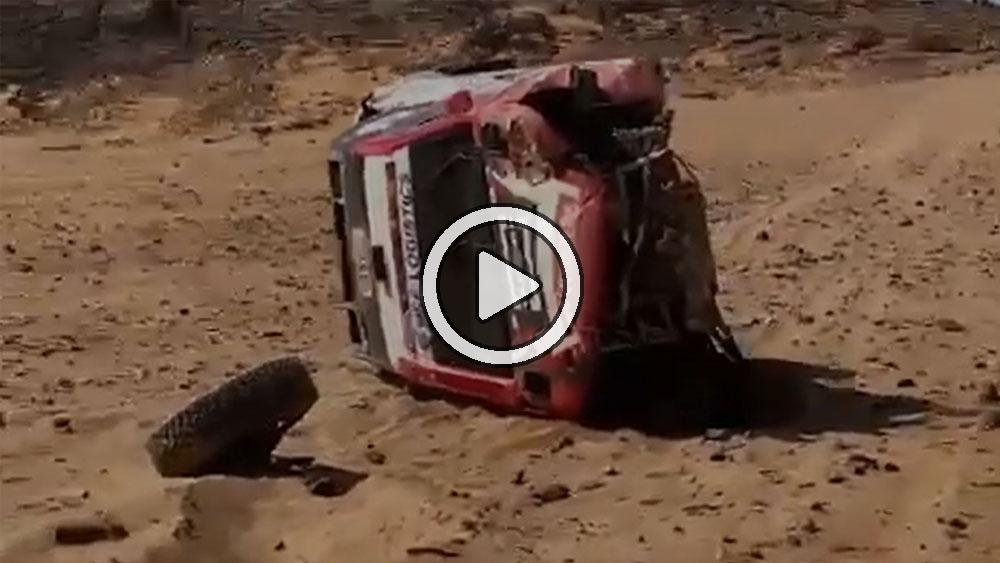 Video: Ten Brinke sufrió un grave accidente que destruyó su Hilux