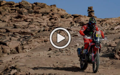 Video: el resumen con lo mejor de las motos en el Dakar 2021