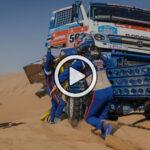 Video: lo mejor de los camiones en el Dakar 2021