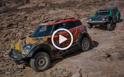 Video: lo mejor del Dakar 2021 entre los autos
