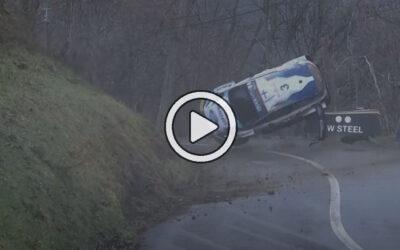 Videos: Teemu Sunninen sufrió un duro accidente en el Rally de Montecarlo – WRC