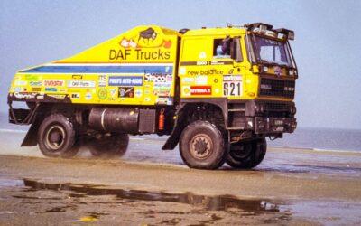 Dos camiones históricos del Team De Rooy podrían estar en el Dakar 2022 en Classics