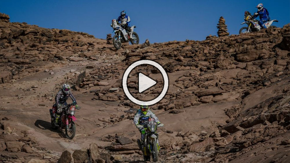 Video: Lo más destacado de la etapa 3 en motos y quads – Dakar 2021