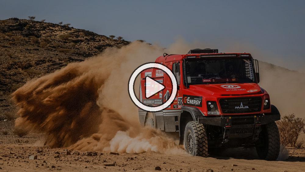 Video: Lo más destacado de la etapa 1 en camiones – Dakar 2021