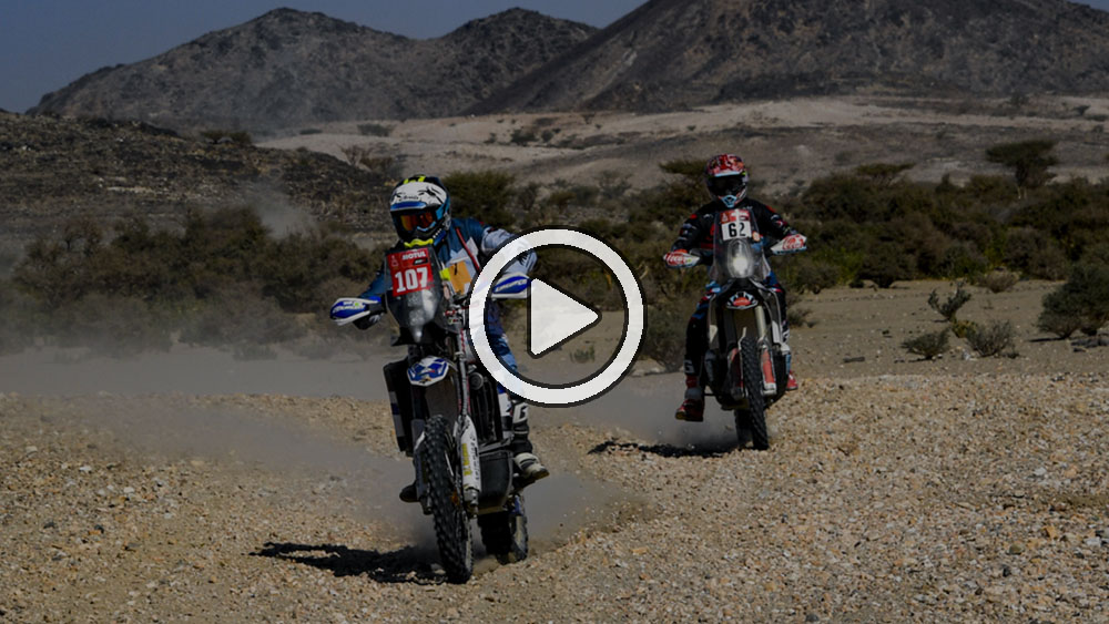 Video: Lo más destacado de la etapa 4 en motos y quads – Dakar 2021