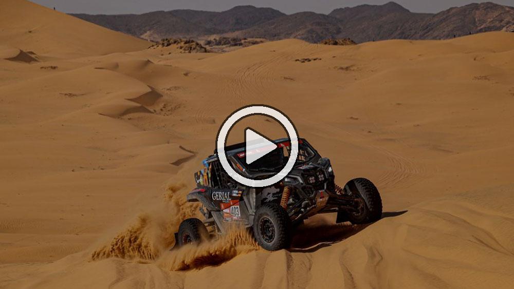 Video: Lo más destacado de la etapa 2 en vehículo ligero – Dakar 2021
