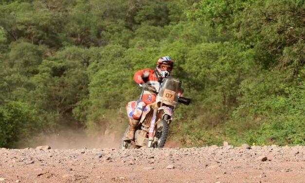Joaquín Debeljuh correrá el Dakar 2022 en motos