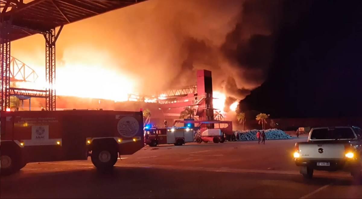 Grave incendio en el Autódromo de Termas de Río Hondo