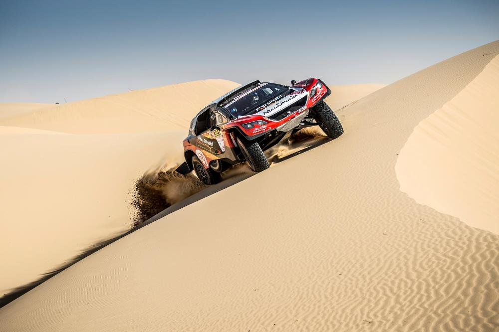 Todo listo para la Dubai International Baja 2021