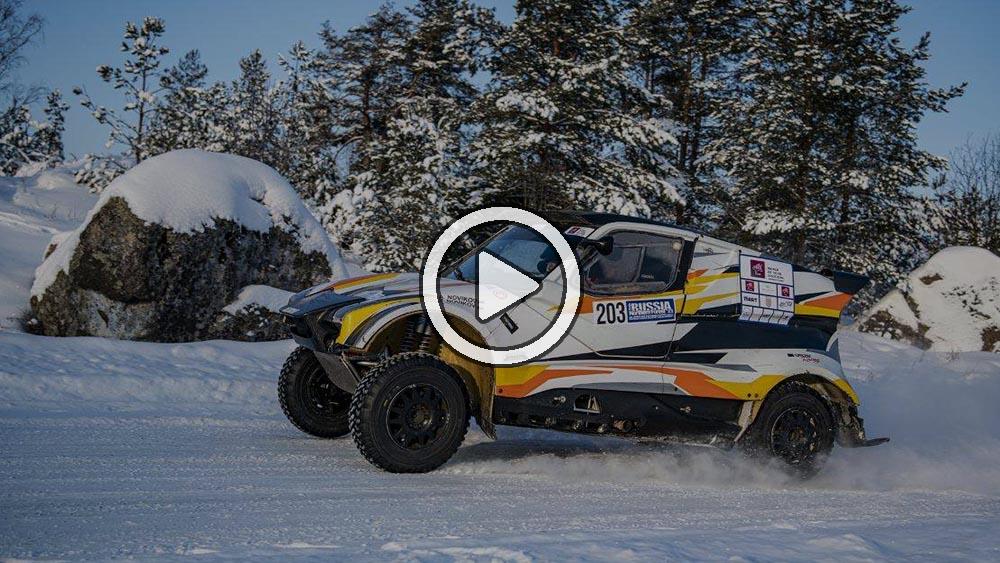Video: el resumen de la etapa 1 de la Baja Rusia 2021