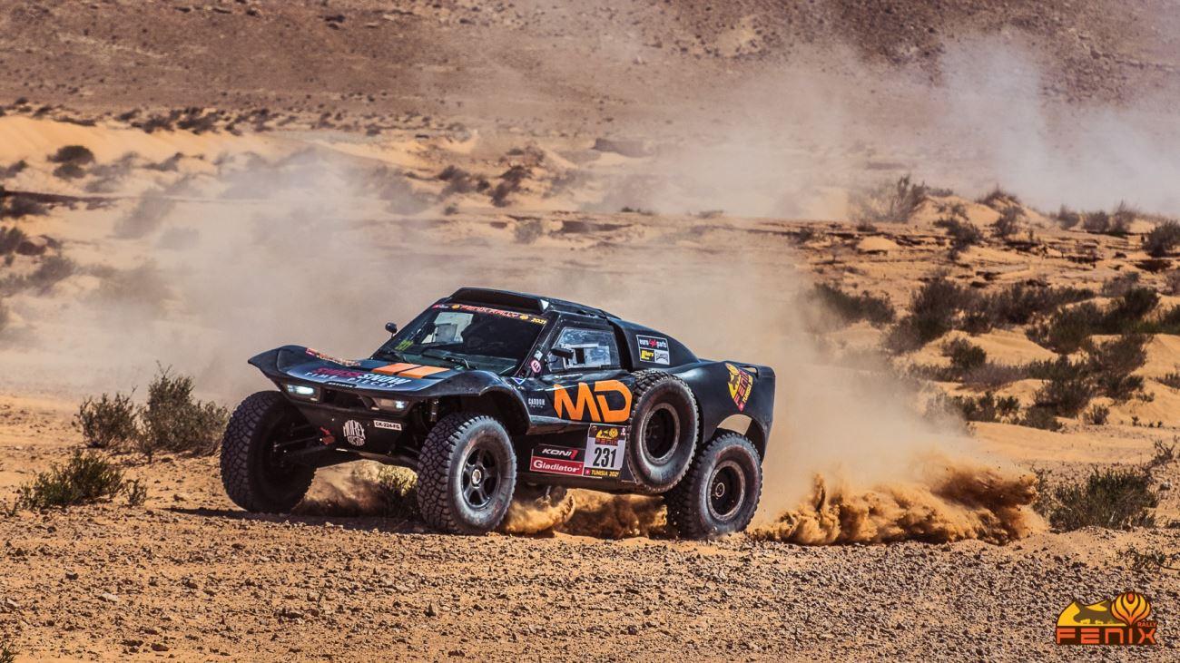 Galería: espectaculares fotos del Fenix Rally 2021 en el Sahara