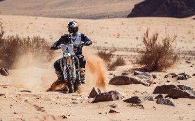 Baja Jordania: Al-Balooshi comanda las acciones entre las motos