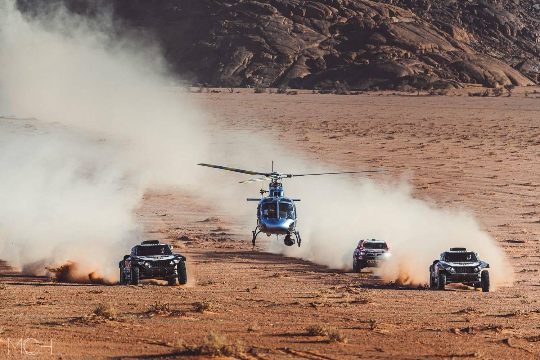 Galería: persecuciones en helicóptero, una tarea arriesgada y con resultados increíbles