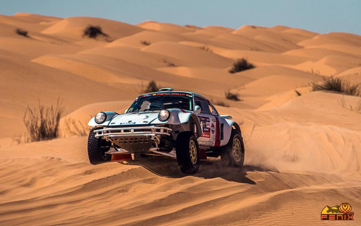 Jerome Pelichet ganó el aventurero Fenix Rally 2021 en Túnez