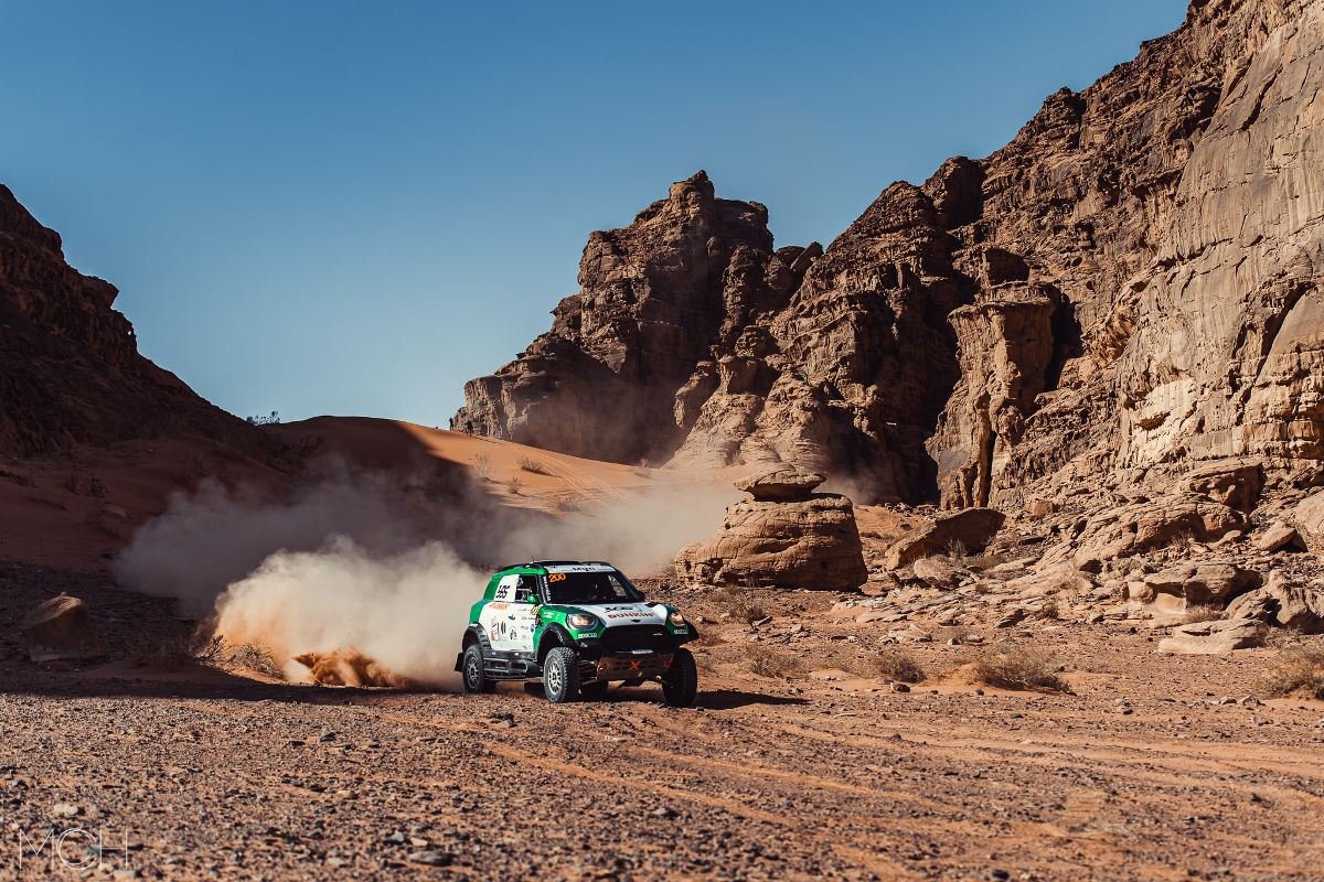 Yasir Seaidan toma gran ventaja en el Mundial FIA de Bajas