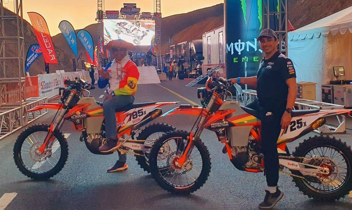 El Chavo Salvatierra y Fabricio Fuentes vuelven a la Baja 250 en Pro Moto Ironman