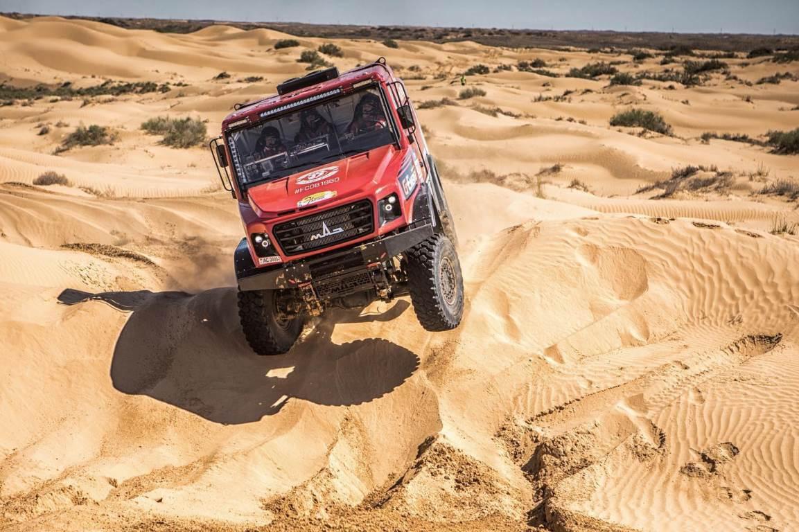 El equipo Maz se prepara para el Rally Gold of Kagan 2021