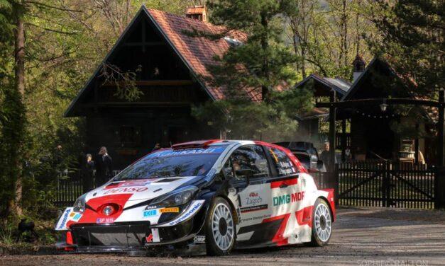 Ogier se llevó el Rally de Croacia, pese a sufrir un accidente de tránsito en un enlace