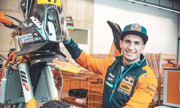 Kevin Benavides es nuevo piloto de KTM y Red Bull