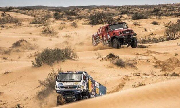 Sotnikov le ganó la pulseada final a Viazovich y logró la victoria en Rally Gold of Kagan 2021