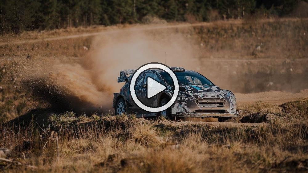Video: así suena el Ford Fiesta híbrido para el WRC 2022