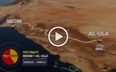 Vea en vivo la presentación de la ruta del Dakar 2022