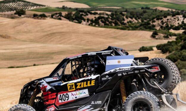 David Zille y Bruno Jacomy ganaron el Road to Dakar 2022 y ya tienen su inscripción asegurada