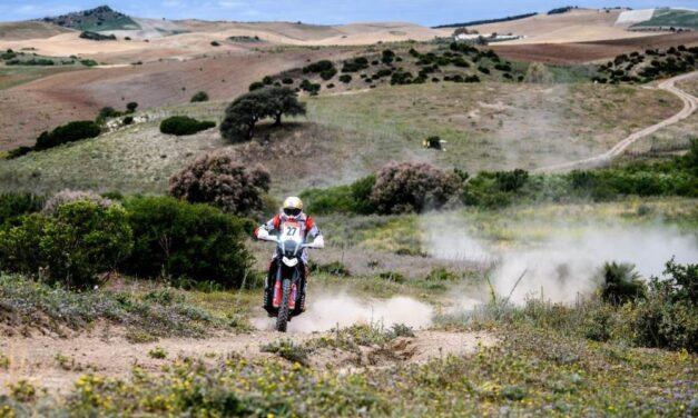 Hero dominó el prólogo del Andalucía Rally entre las motos