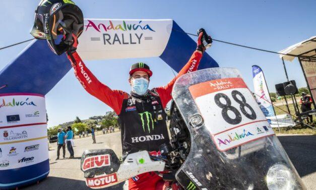 Joan Barreda se quedó con el Andalucía Rally 2021