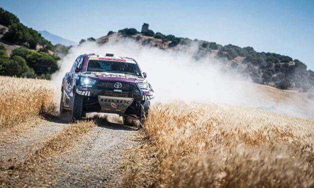 Los hermanos Al-Attiyah dominan la primera etapa del Andalucía Rally
