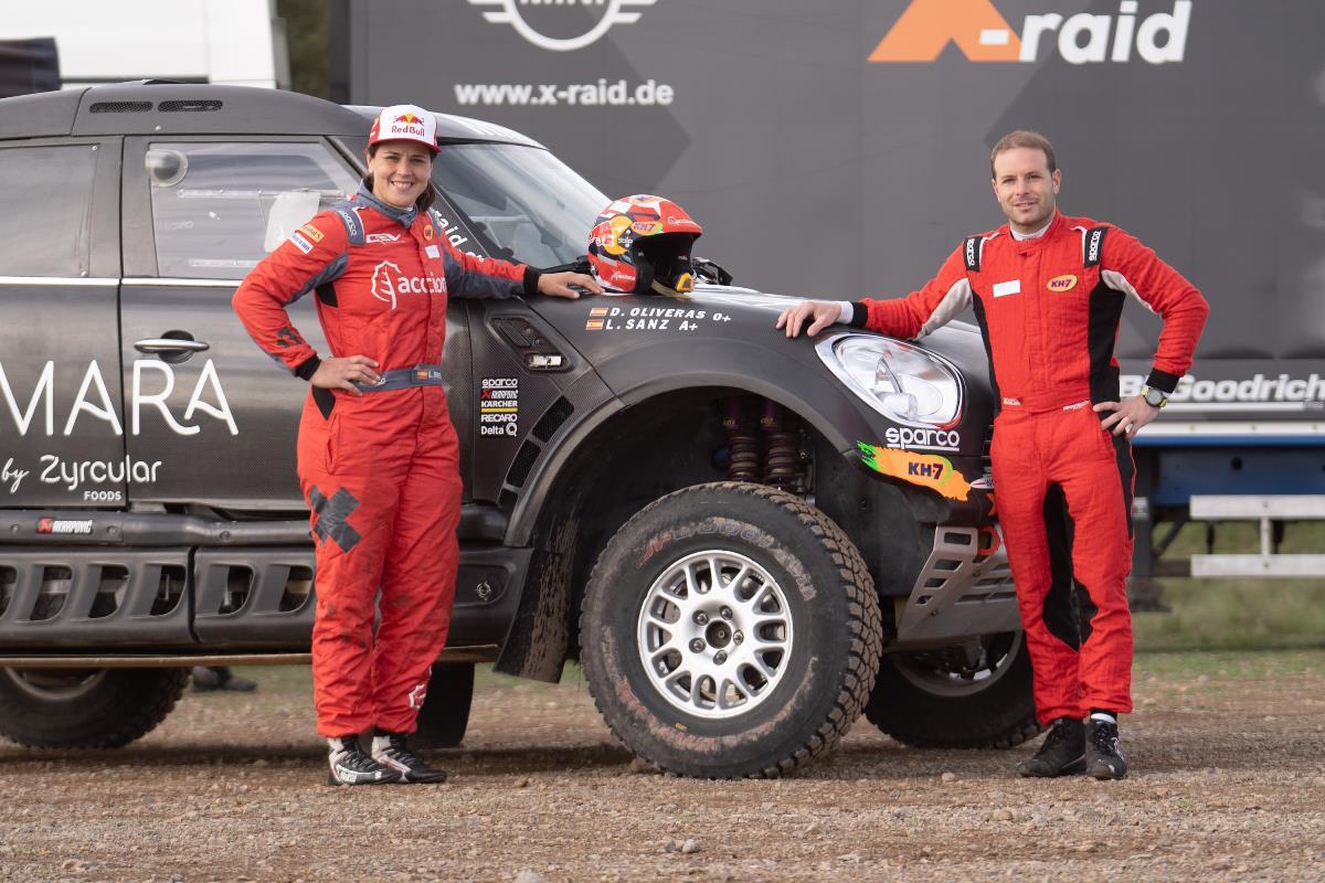 Laia Sanz debutará en el Andalucía Rally con el 4x4 de MINI