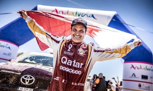 Al-Attiyah ganó el Andalucía Rally 2021 en una emocionante definición
