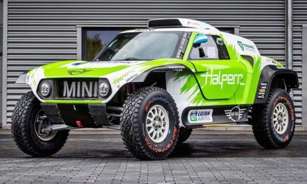 Sebastián Halpern correrá el Rally de Kazajistán con un Buggy de MINI