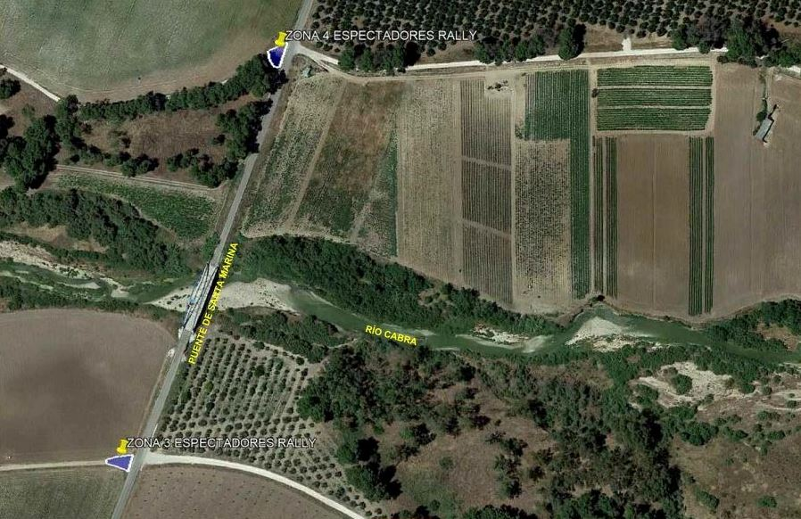 Recorrido detallado de la Etapa 2 y zonas de espectadores – Andalucía Rally 2021