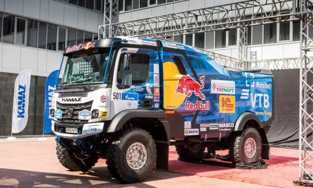 Kamaz presentó su nuevo modelo para el Silk Way Rally 2021 y el Dakar 2022
