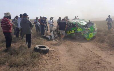 Tremendo accidente en el Rally Safari 2021