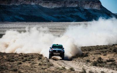 Al Rajhi vuelve a triunfar en el tercer día y se acerca a Serradori en Kazajistán