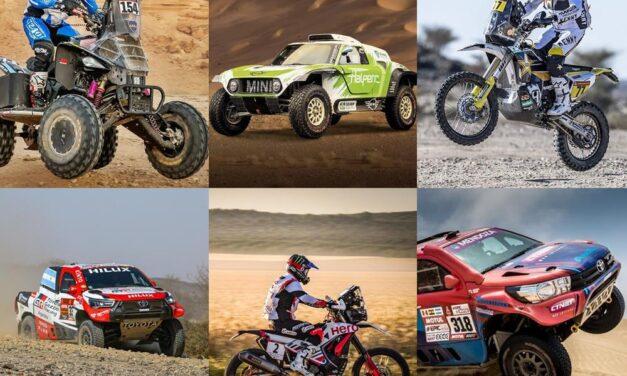 Los argentinos copan el Rally Cross-Country de Kazajistán