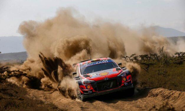 Volvió el histórico Rally Safari de Kenia al WRC: reporte de un día caótico