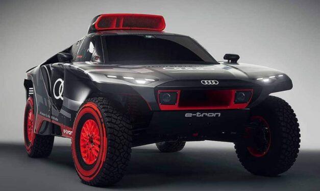 Así es el espectacular Audi RS Q E-Tron que debutará en el Dakar 2022